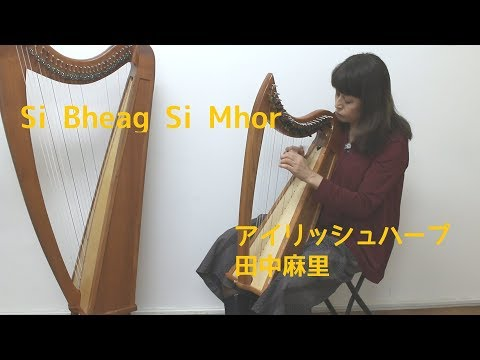 Si Bheag Si Mhor / 田中麻里 アイリッシュハープ
